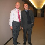 With Michael Cashman, MEP, at the European Parliament in Brussels