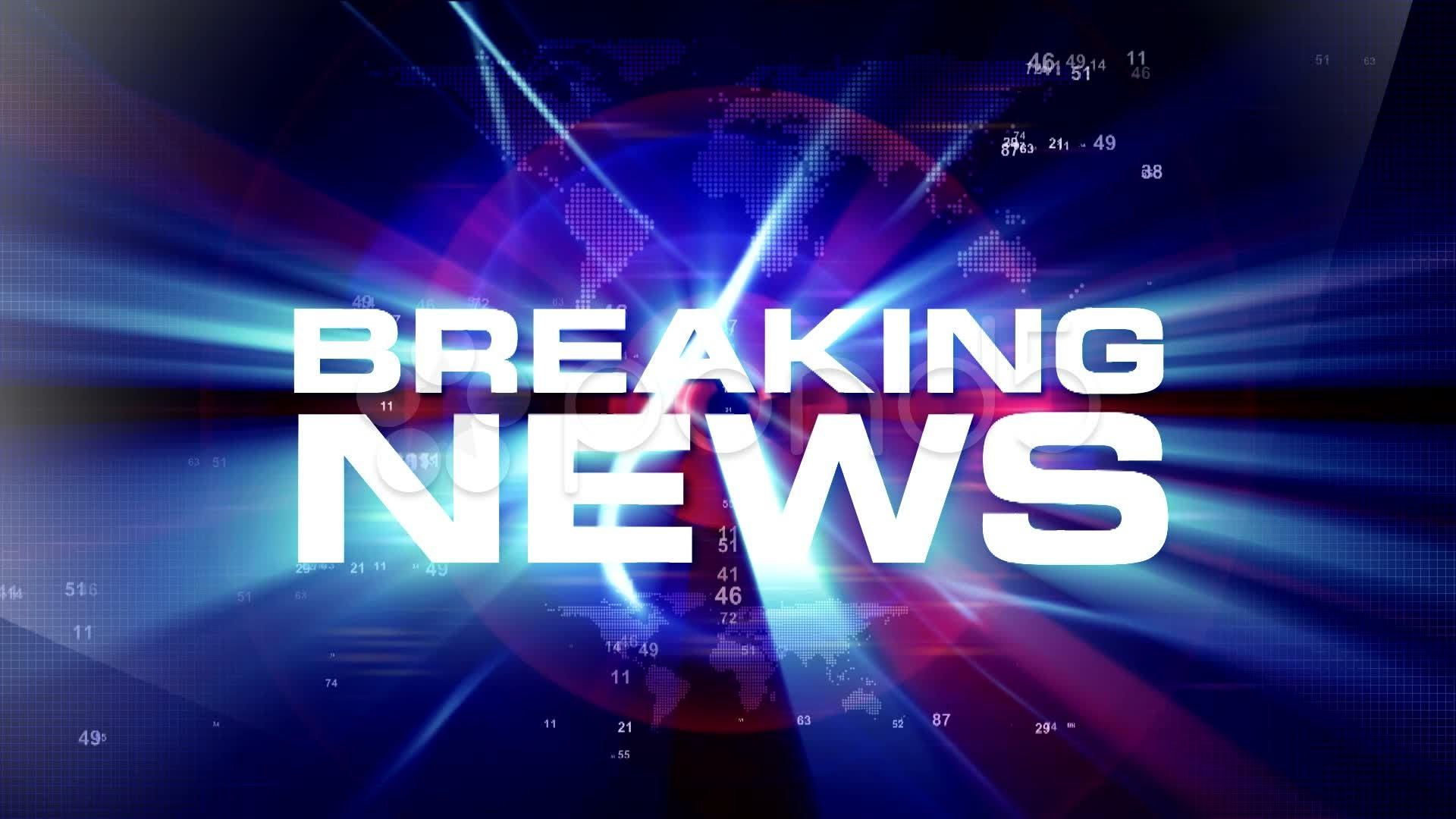breaking news Breaking news.