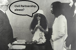 John & Yoko - Civil Partnership, please?