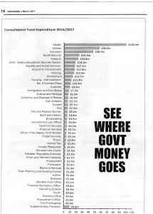 WHERE GOVT MONEY GOES - 2017